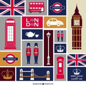 london-płaskie-zestaw-ikon_23-2147492279